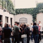Our courtyard (photo by Anchors Aweigh Photography)